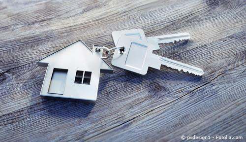 Immobilie kaufen und den Schlüssel zu den eigenen vier Wänden erhalten