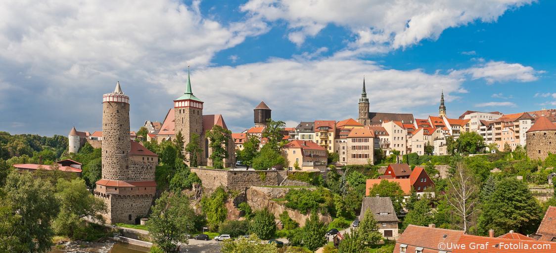Der Blick über die Bautzener Altstadt - Immobilien in Altstadtnähe sind besonders beliebt