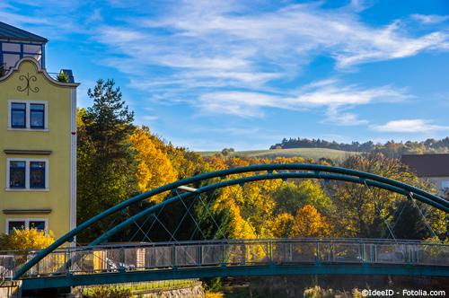 Freital liegt naturnah am Stadtrand Dresdens und bietet so optimale Wohnbedingungen