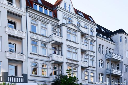 Schöne Wohnungen mieten in einem Gründerzeitgebäude