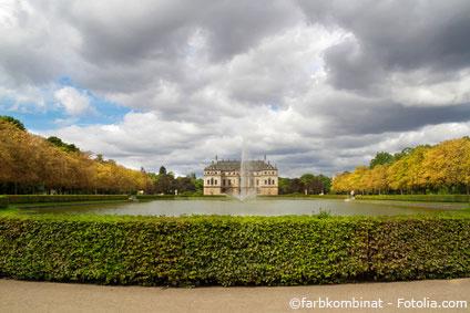 Blick in den Großen Garten - In der Nähe der Pirnaischen Vorstadt in Dresden